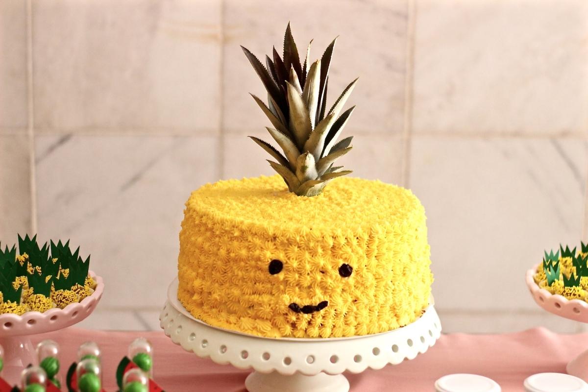 A festa foi de abacaxi