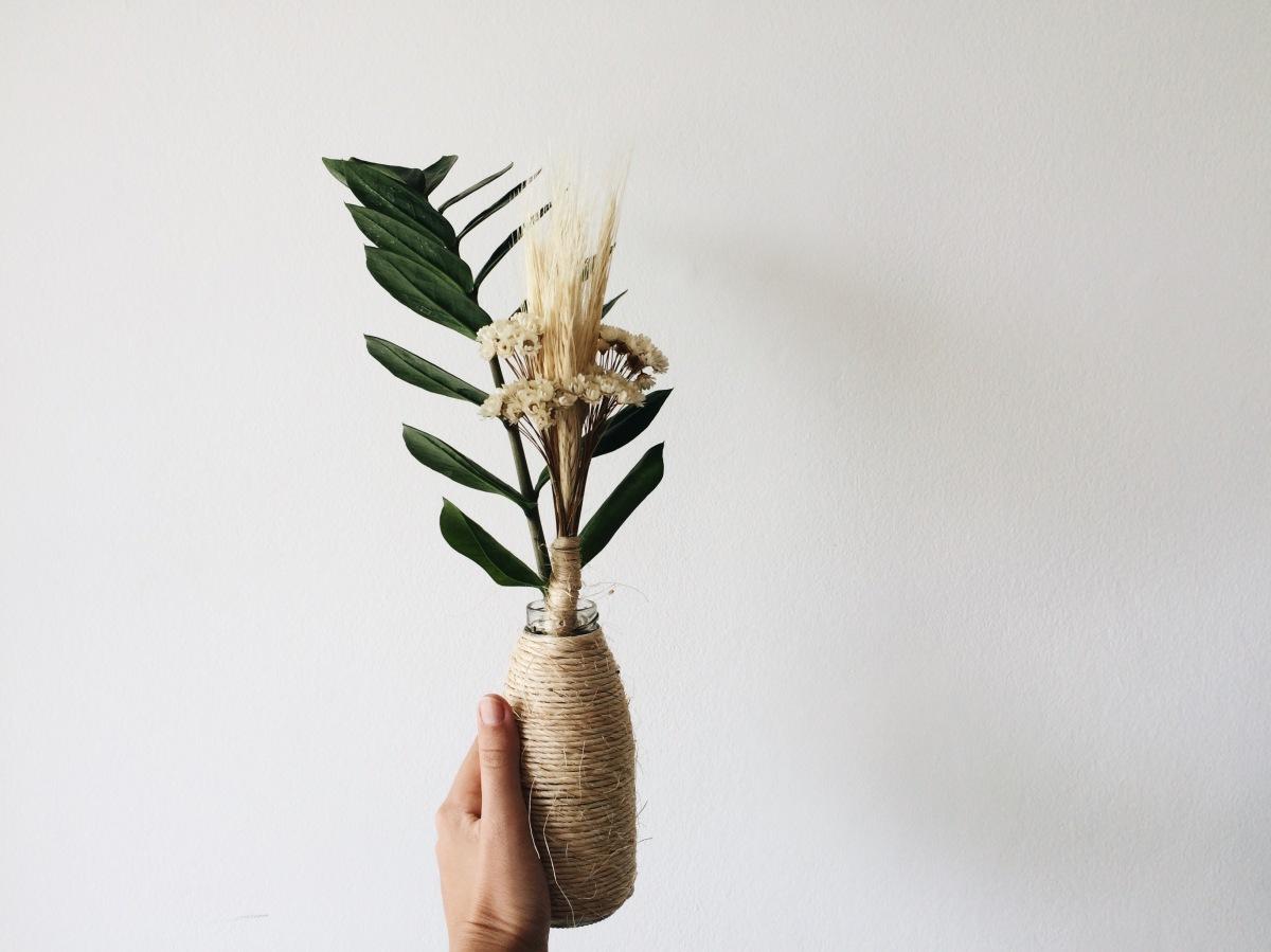 DIY - Vasinho de Sisal